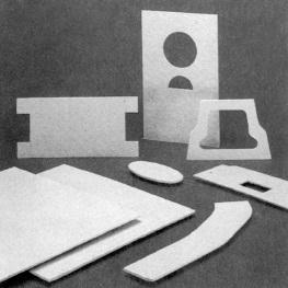 Refractory thin board CERACARTON