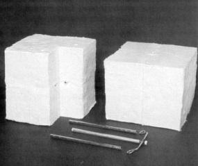 Refractory modular blocks PYRO-BLOC 607 MODULES