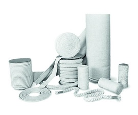 Refractory textiles products